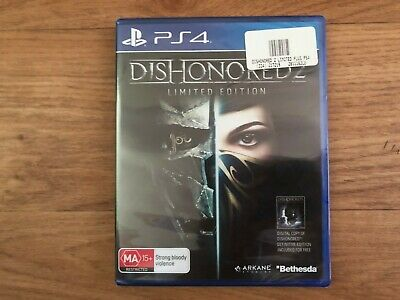(Brand New, Sealed) Dishonored 2 PlayStation 4 PS4 + Dishonored Definitive Ed.