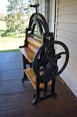 Antique Mangle, Industrial piece, Colonial- Australian Fully Restored