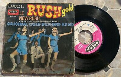 Sp 45Trs Vinyl 7''/ French Sp Vogue Dansez Le Rush Gold / New Rush