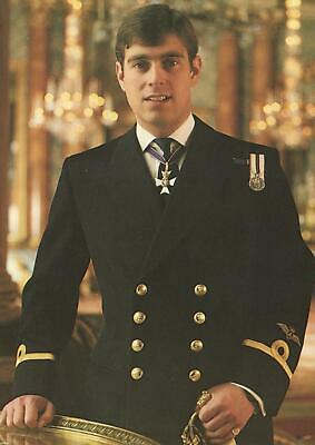 Vintage H.R.H. PRINCE ANDREW, photographed by Nelson POSTCARD - UNUSED EXCELLENT