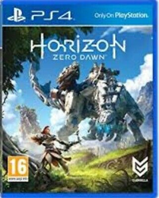 Horizon Zero Dawn - PlayStation 4 (PS4) Game. Complete with case, manual & disc.
