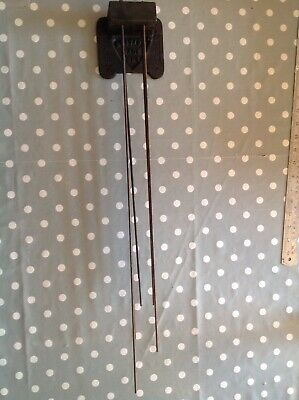 Antique Westminster Clock Chime Gong For Large Wall Or Longcase 12x68cm Repair