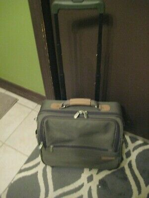 Briggs & Riley Wheeled Rolling Laptop Computer Luggage Bag Case carry on