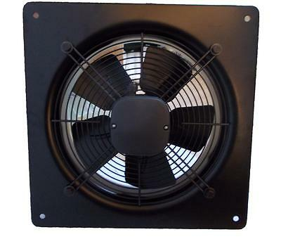 Commercial Extractor Ventilation Axial Blower Metal Plate Fan Industrial Use
