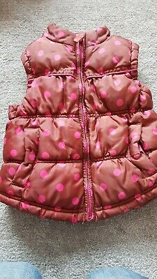 Girls Next Gilet Bodywarmer 2-3 Years Gillet