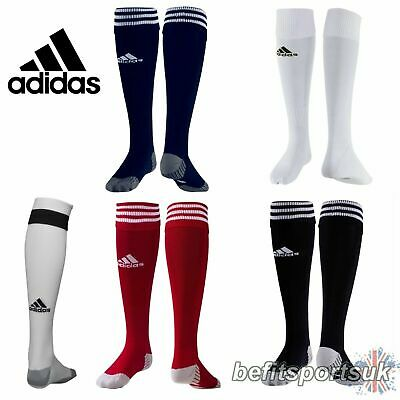 Adidas Adisock 12 Football Sock Teamwear Cushioned Fit Size 8.5-10 18 Pair Pack