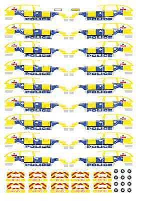 * LOT OF 12 unigate milk WATERSLIDE DECALS FOR CODE 3 MODELS Cararama /& Hongwell