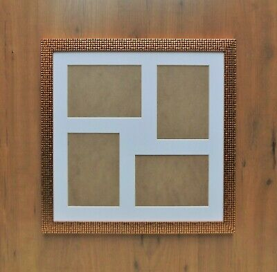 Multi Aperture Picture Photo Frames To Hold 9 7x5 Photos In An Oak Stain Frame