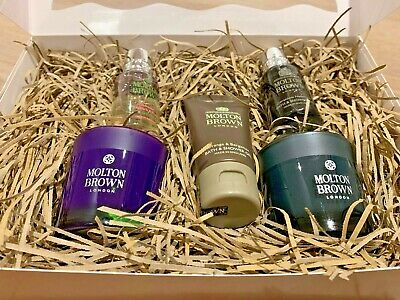 Molton Brown Gift Set Luxury Box Set Candle Shower Gel Valentines Gift Him Her