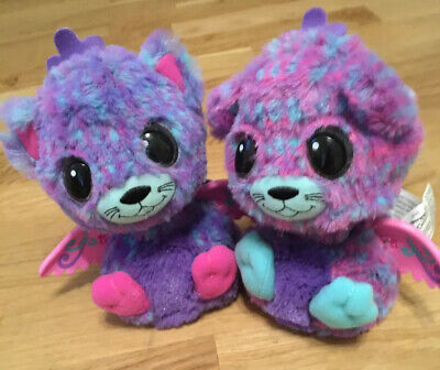 Hatchimals Surprise Twins Peacat Purple Egg Hatched Never Played With