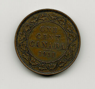 World Coins - Canada 1 Cent 1911 Coin KM# 15