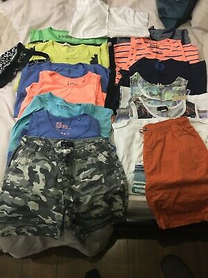 Boys Vest  And Shorts Bundle 11-12 Holiday Next River Island - Boys Clothing