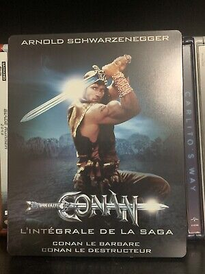 Rare Conan the Barbarian and Destroyer Steelbook (Blu-ray, French Edition,)