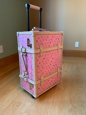 Dooney & Bourke Wheeled Pink Luggage