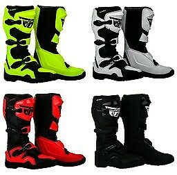 Fly Racing Maverik Boots Motocross ATV Offroad - All Colors