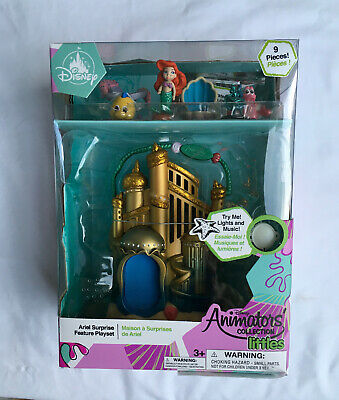 Disney Animators Collection Littles The Little Mermaid Ariel Play Set - New!