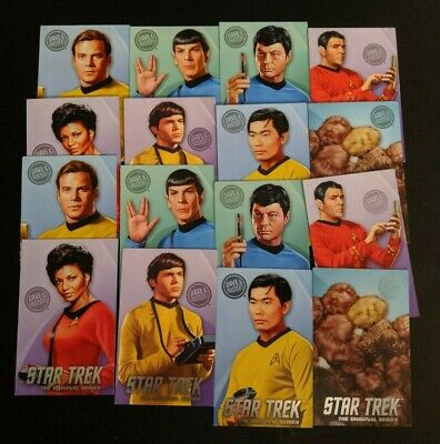 TWO 2x Dave and Buster's Star Trek TOS Cards Full Sets Rare Tribbles Arcade Game