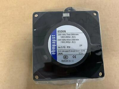 For ebmpapst TYP 8556N AC230V 8cm 8038 all-metal high temperature fan
