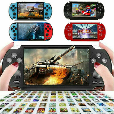 8GB 5.1'' Handheld PSP Game Console Player Built-in 10000 Games Portable Console