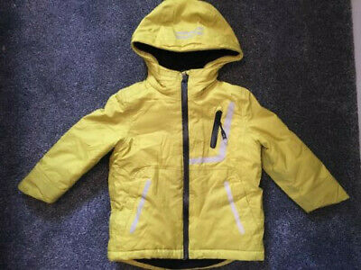 Boys Ted Baker bright yellow coat age 2-3 years