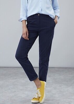 Joules Hesford Chinos French Navy Size UK 12 BNWT NEW