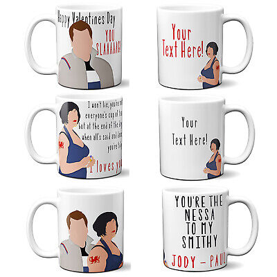 Personalised Nessa Smithy Mug Funny Valentines Day Cup Gift Gavin & Stacey Style
