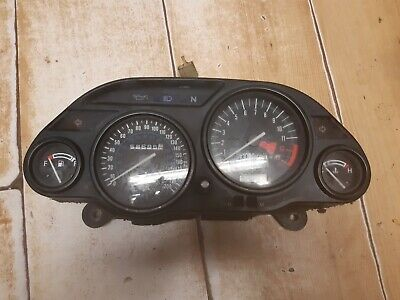 Kawasaki Zzr1100 Clocks Speedo Tacho Fuel Temperature Guage Zzr1100D