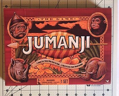 Original Jumanji Action Board Game, travel size- pre owned complete