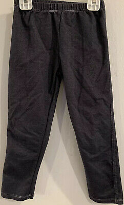 Nanette Kids Girls Size 5 Dark Blue Jeggings Leggings
