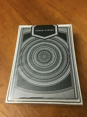 Verum Videre v2 Playing Cards Poker Size Deck USPCC Custom Limited Edition New