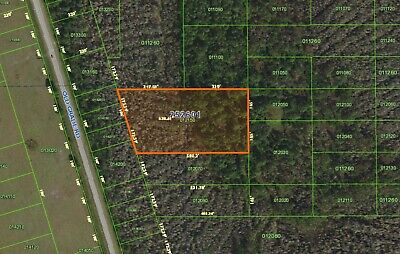 3.29 Acres, Polk City, Road Access, Foreclosure, Residential, Off Grid, Low Tax