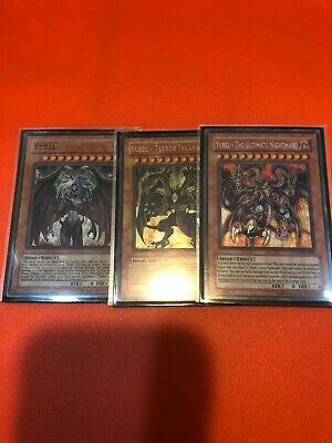 Yugioh Yubel Set - Terror Incarnate, The Ultimate Nightmare PTDN (original)