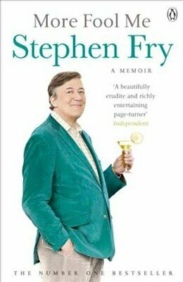 More Fool Me by Stephen Fry 9781405918831 | Brand New | Free UK Shipping