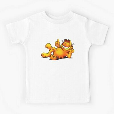 GARFIELD the Movie T-Shirt/_Kids Child/'s Youth Size LARGE/_NEW Unopened Sealed