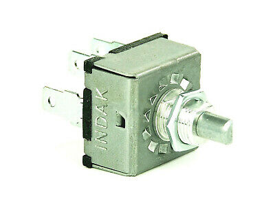 ROTARY AIR CONDITIONING 3 SPEED BLOWER SWITCH UNIVERSAL TYPE /'INDAK/'.MADE IN USA