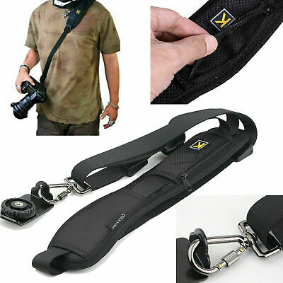 High Quality Sling DSLR SLR Cameras Single Shoulder Belt Strap Canon Sony Nikon
