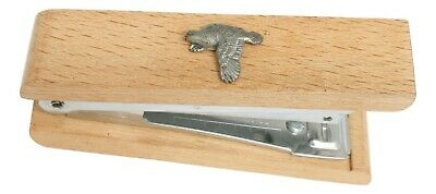 Quail Wooden Stapler Office Stationary Bird Gift 290