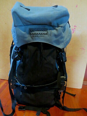 KATHMANDU Large 70L BACKPACK with zip-off DAYPACK