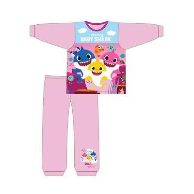 Kids Baby Shark Song Pyjamas Boys Girls Pinkfong Doo Doo Pjs Nightwear 18m-5yrs