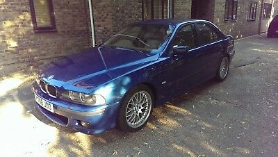 Bmw 540I Individual Auto Topas Blue Full History Low Miles Almost Immaculate
