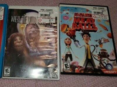 Lot of 7 Wii U AND Wii Games You Choose - All in great working condition