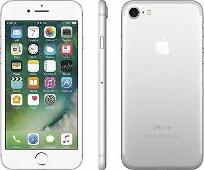 SPRINT Apple iPhone 7 Silver 32GB 4G LTE Camera Smart Video Cell Phone *CLEAN*