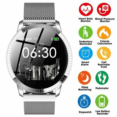 Fashion Bluetooth Smart Watch Waterproof Heart Rate for iOS Android Apple GIFT