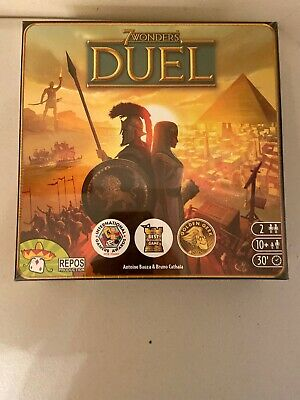 Repos Production SEVEN07ASM 7 Wonders: Duel Board Game