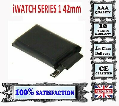 100% NEWFor Apple iWatch Watch Series 1 42mm Internal Battery Replacement 246mAh