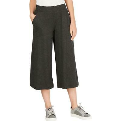 Ideology Womens Cropped Yoga Relax Wide Leg Pants Athletic BHFO 0365