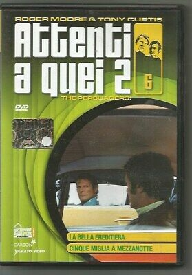 Dvd-Attenti A Quei 2-The Persuaders!-N.6-Hobby&Work-Roger Moore & Tony Curtis