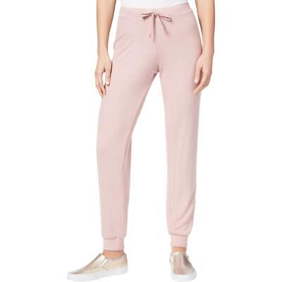 Hippie Rose Womens Pink Knit Pull On Drawstring Sweatpants S BHFO 0416