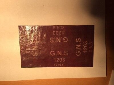 GREAT NORTH OF SCOTLAND RAILWAY (GNSR) ROPED TARPAULINS FOR 00 GAUGE - Pack Of 4