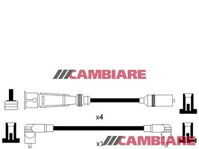 VW GOLF Mk1 1.8 HT Leads Ignition Cables Set 82 to 92 VOLKSWAGEN Cambiare New